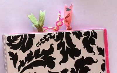 How to Make Paperclip Ribbon Bookmarks