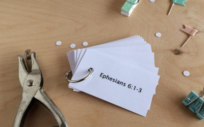 How to Memorize Ephesians 6, Easy Peasy