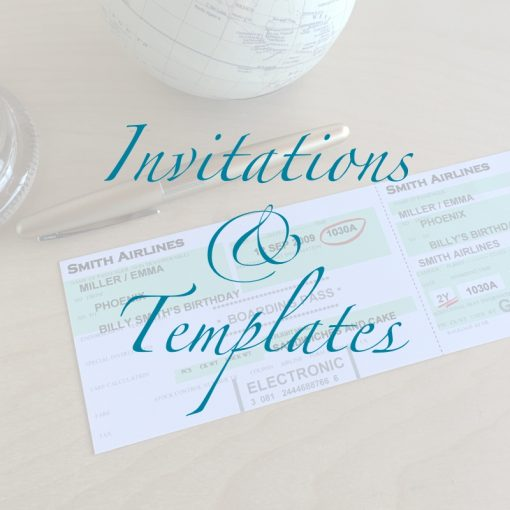 Invitations, Certificates and Templates