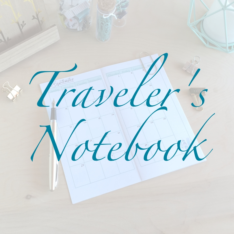 Travelers Size Printable Planners