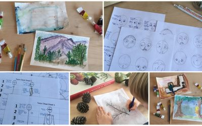 Saving Christmas with Amazing Artists Lesson Plans