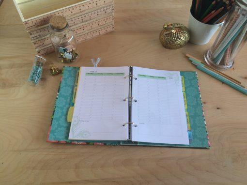 My unique planner