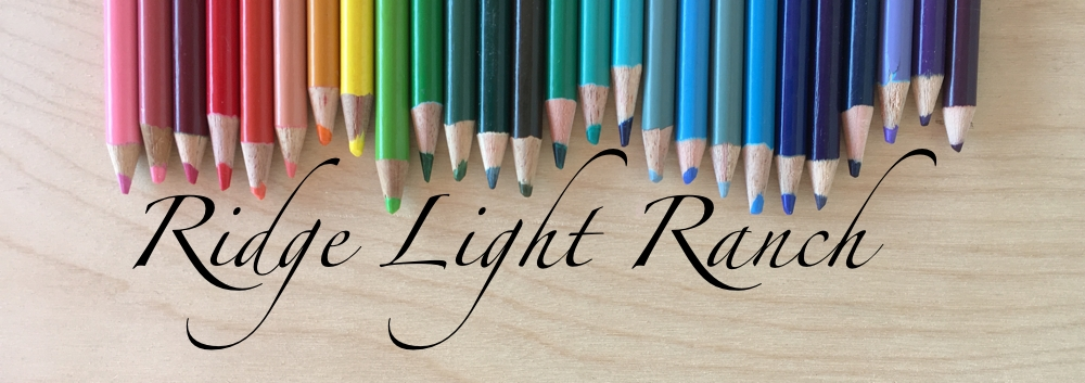 Ridge Light Ranch Colored Pencils