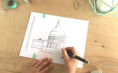 Drawing the U.S. Capitol Building UsingSymmetry (C3W2)