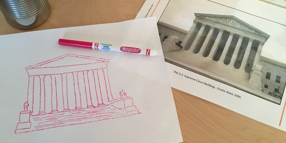 Drawing Basic Shapes with American Landmarks (C3W1)