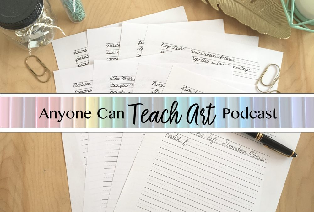 Podcast #8: D&J Discuss Handwriting and Art