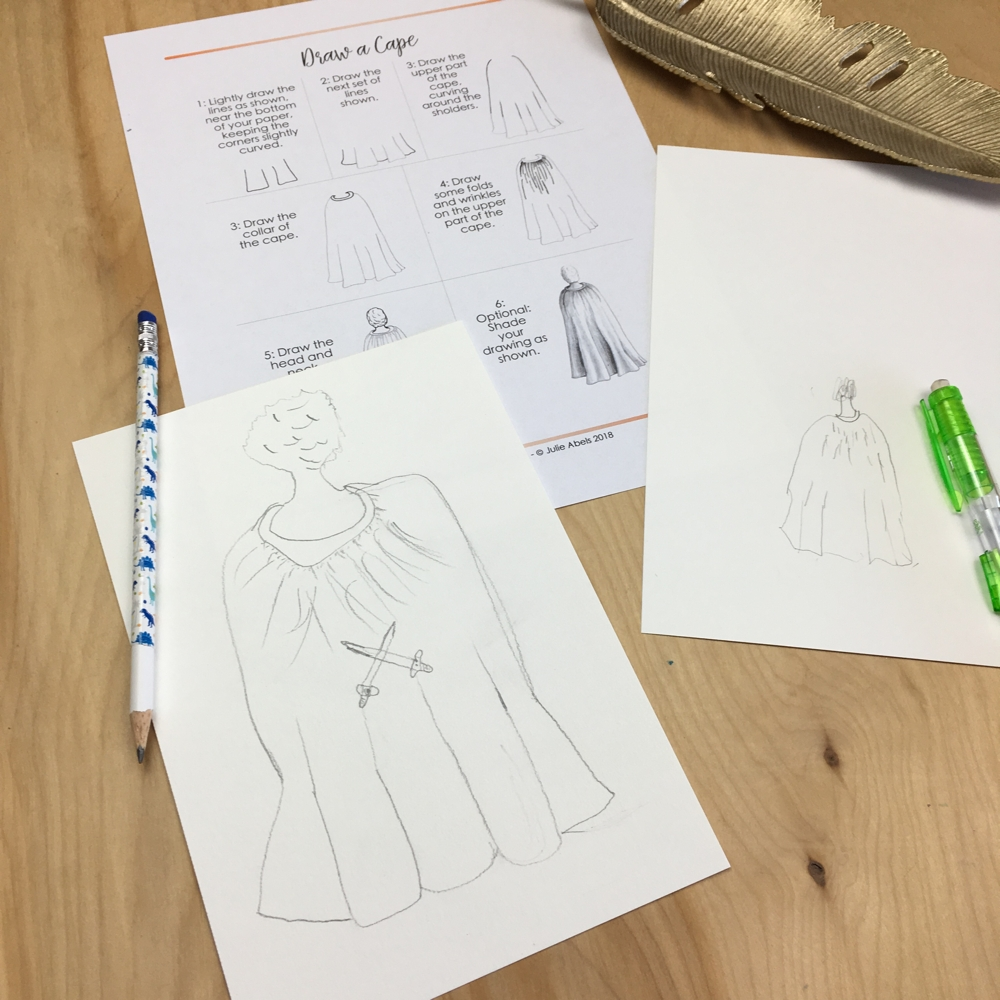 Drawing Clothing With Giotto C1w13 Lesson Plan Ridge Light Ranch