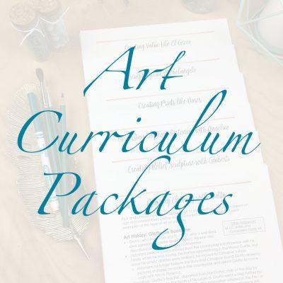 Art Curriculum Packages