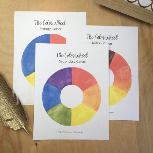 Classroom Color Wheel