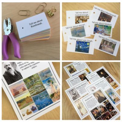 Flashcards and Mini-posters