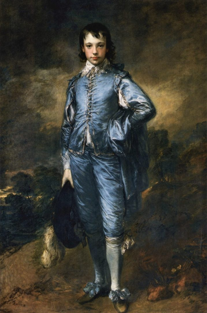The Blue Boy by Gainsborough