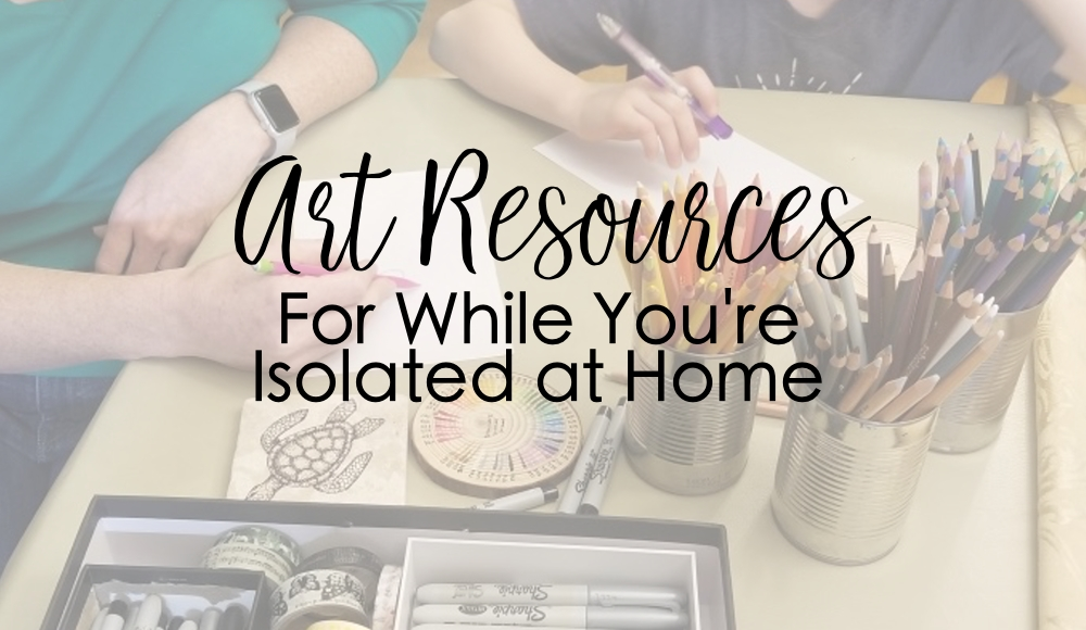 art projects to do at home