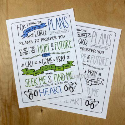 plans to prosper you