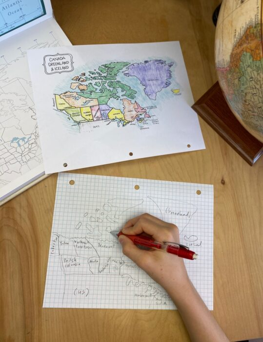 Drawing in Cartography