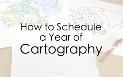 How to Schedule a Year of Cartography